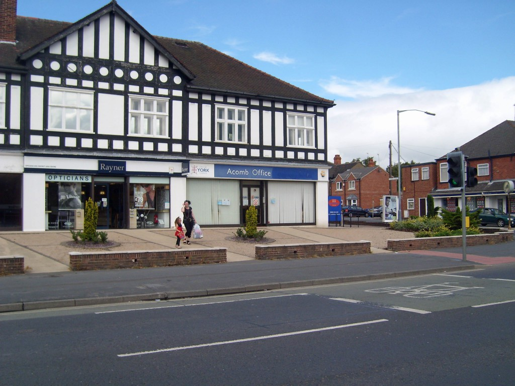 Acomb branch office closed by Labour in 2012