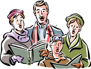 A_Group_Of_People_Singing_Christmas_Carols_Royalty_Free_Clipart_Picture_091125-143996-205042