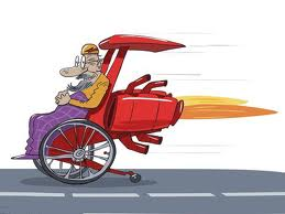 wheelchair speed