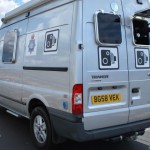 North Yorks speed camera van
