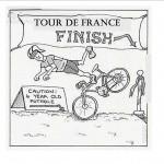 Tour De France finish