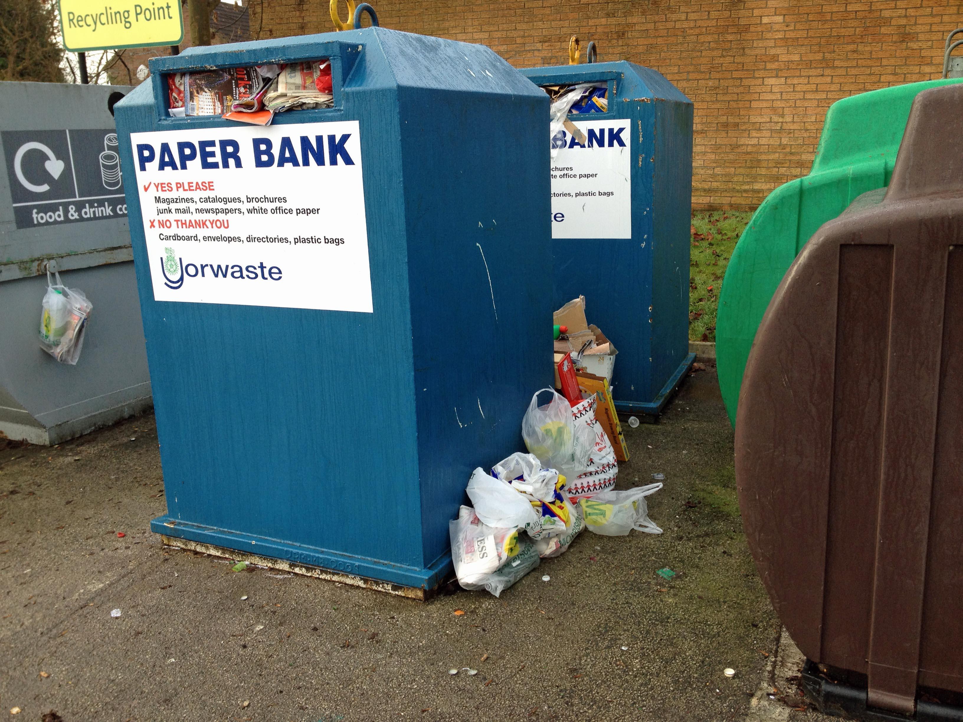 Paper bank