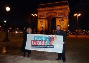 Council leaders hit Paris