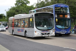 Park and ride buses