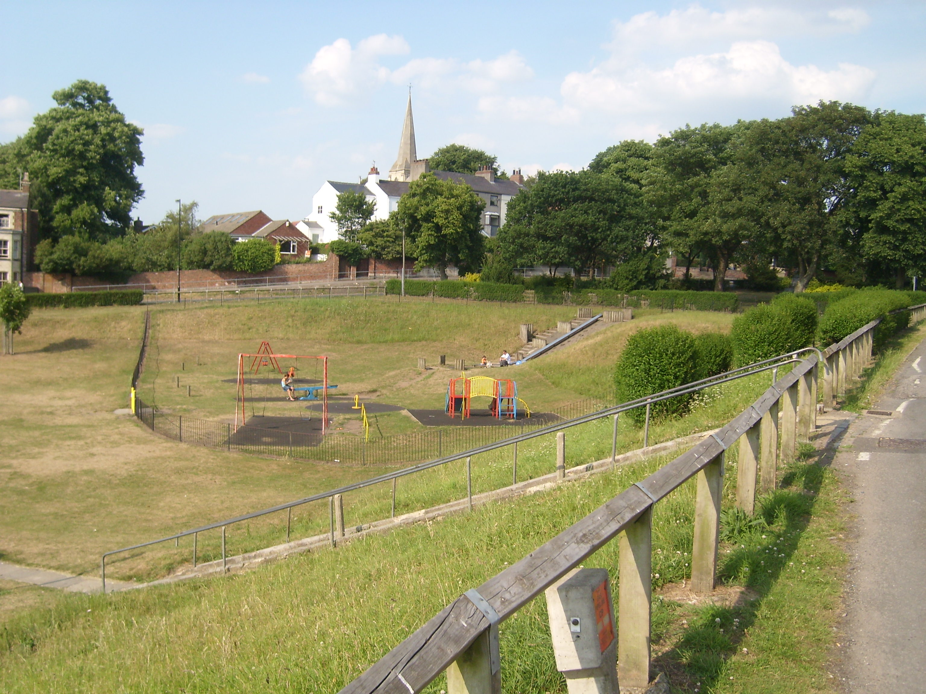 Acomb Green Play area  group in 2011