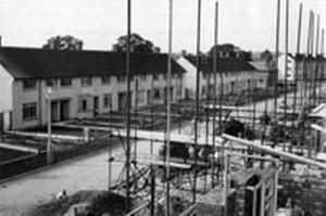 Council house building