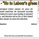 Green bin petition