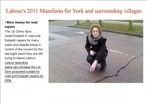 Labour road repair promise
