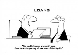 City debt