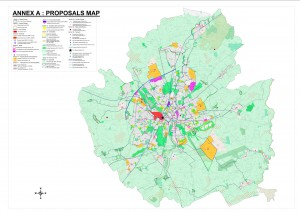 Proposals map - click to enlarge