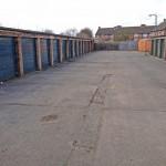 Newbury Avenue garage block where labour plan to builds flats