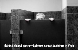 Behind closed doors logo