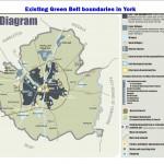Existing York Green Belt boundaries. click to enlarge