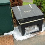 Leaking salt bin