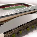 York stadium-Aerial