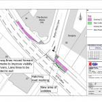 Burton Stone Lane junction improvements click to enlarge