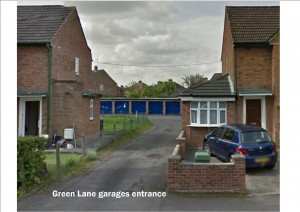 Green Lane garage site