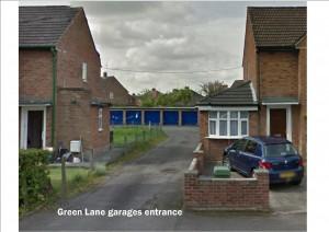 Green Lane garage site