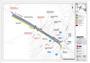 A1237 to Beckfield Lane cycle path. click for larger map