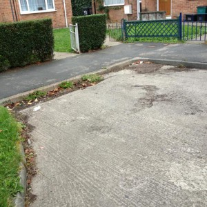 Neglected roads and paths in Kingsway West reported on Saturday
