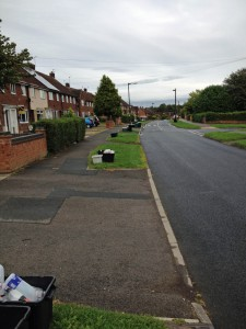Recycling not collected in Chapelfields Road today. Not mentioned on Council web site.
