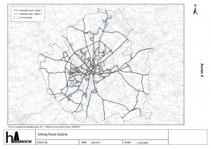 Revised gritting proposals click to see larger map