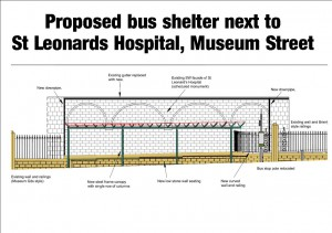 Proposed shelter design