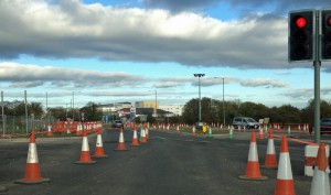 Askham Bar (Tadcaster Road) roadworks