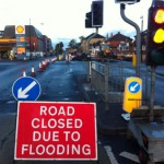 Burst water main on Hull Road/Lawrence Street