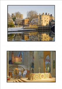 Friends of York Minster 2013 Christmas Cards