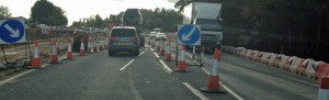 Poppleton Bar Roadworks