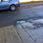 Pothole Windsor Garth