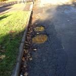 Potholes little Green Lane