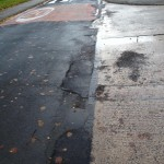 Windsor Garth potholes filled in