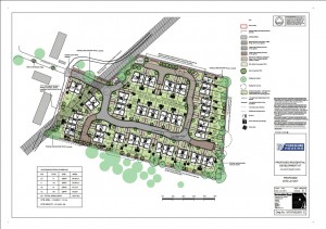 Approved plan for Hob Moor site click to enlarge