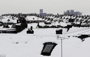 Snow in York