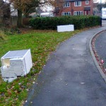 dumped rubbish Bellwood Drive