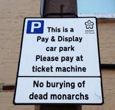Car park Richard iii
