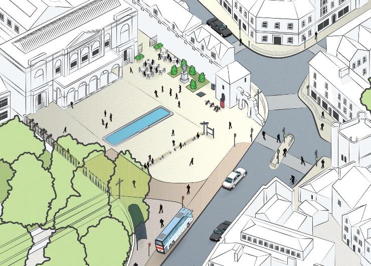Exhibition Square plans