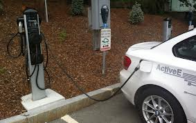 car recharging point