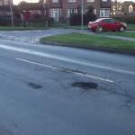 Potholes on Askham Lane