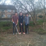 Foxwood park clean up 26th March 14 5