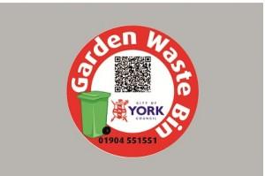 Garden Waste bin stickers