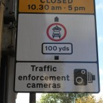 Lendal Bridge signs