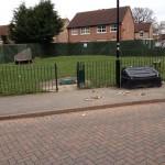 Neglected playground