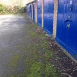 Garage areas need cleaning and resurfacing