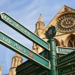 Signpost in York