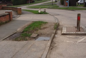 Damaged verges a source of complaint