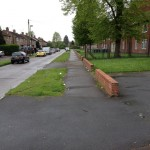 Thoresby Road - litter
