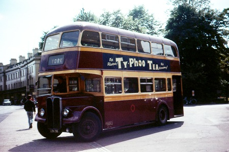 Old Pullman bus